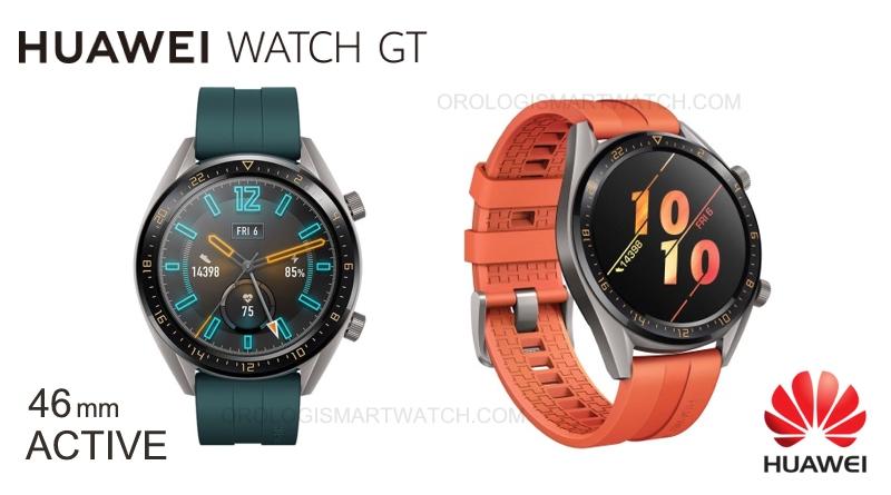 Scheda Tecnica Huawei Watch GT Active 2019
