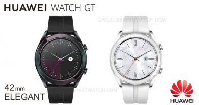 Scheda Tecnica Huawei Watch GT Elegant 2019