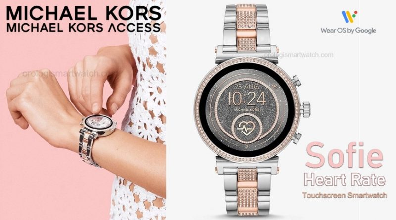 Scheda Tecnica Michael Kors Access Sofie Heart Rate Smartwatch