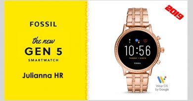 Scheda Tecnica Fossil Q Julianna HR Gen 5 Smartwatch