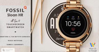Scheda Tecnica Fossil Q Sloan HR Gen 4 Smartwatch