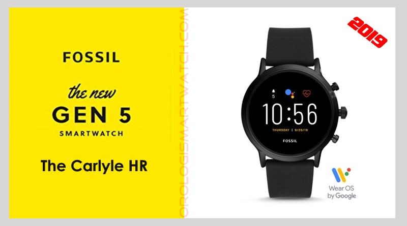 Scheda Tecnica Fossil Q The Carlyle HR Gen 5 Smartwatch