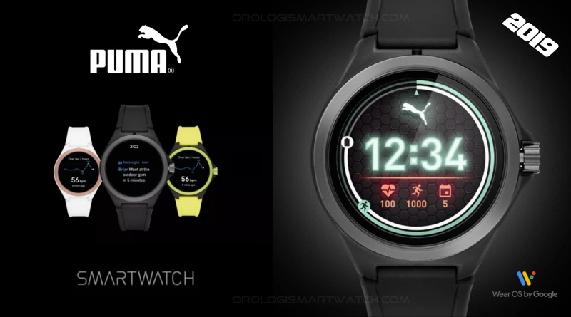 Scheda Tecnica Puma Smartwatch