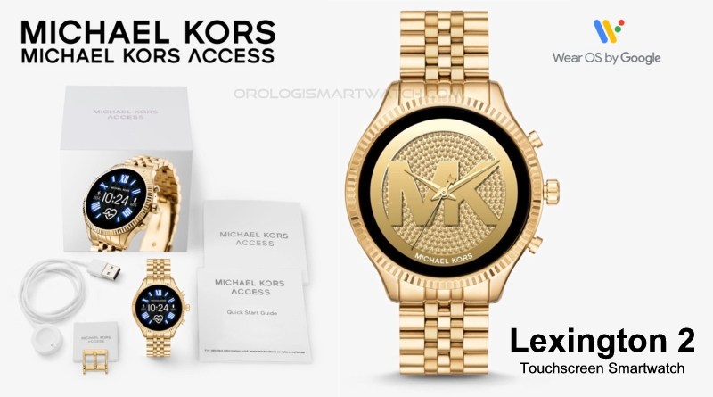 Scheda Tecnica Michael Kors Access Lexington 2