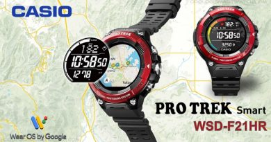 Scheda Tecnica Casio PRO TREK Smart WSD-F21HR