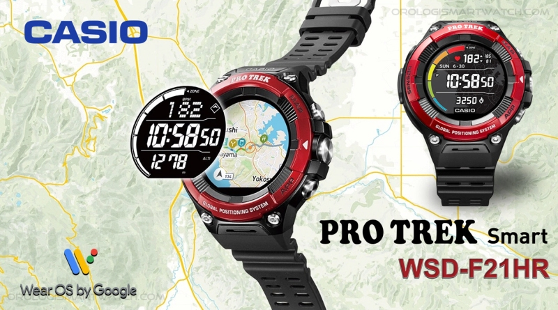Scheda Tecnica Casio PRO TREK Smart WSD-F21HR