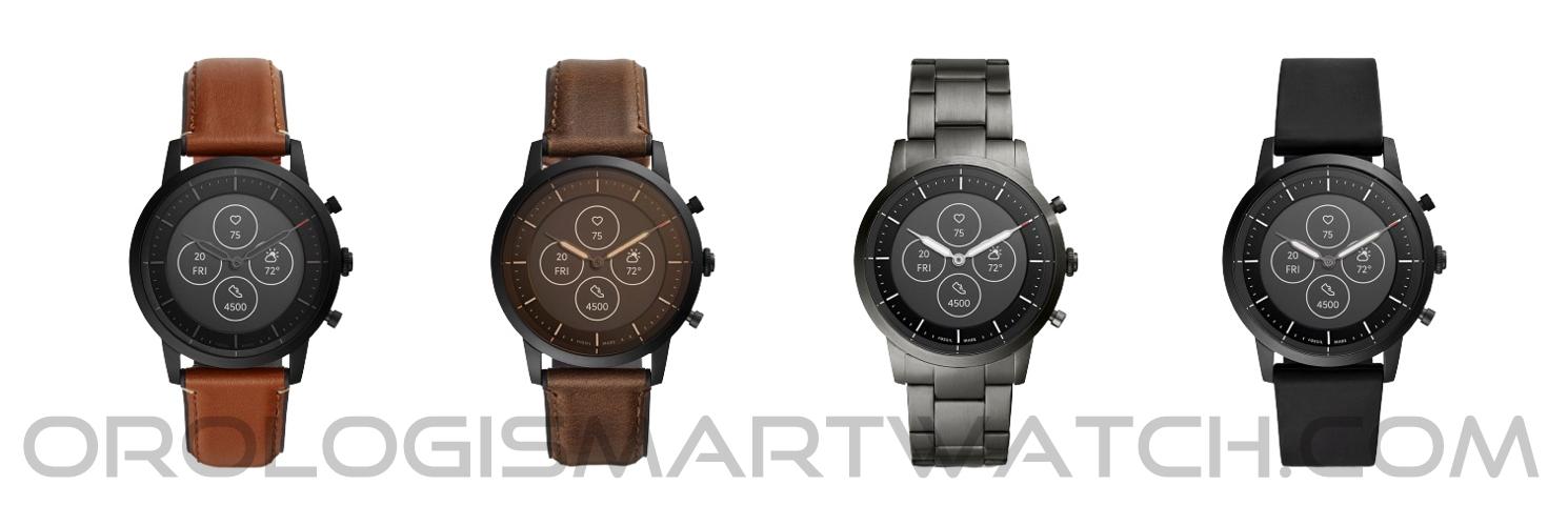 Scheda Tecnica Fossil Q Collider Smartwatch ibrido HR