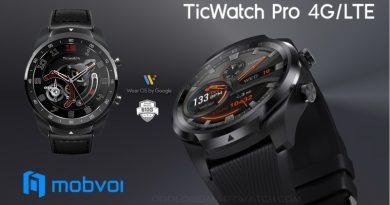 Scheda Tecnica Mobvoi Ticwatch Pro 4G/LTE