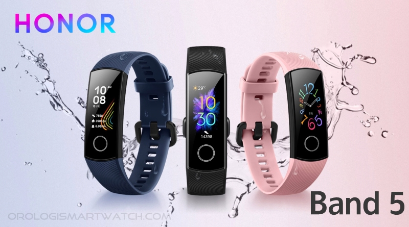 Scheda Tecnica Honor Band 5