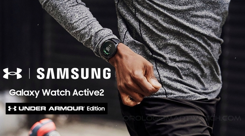 Samsung Galaxy Watch Active2 Under Armour Edition da oggi disponibile sul sito Samsung