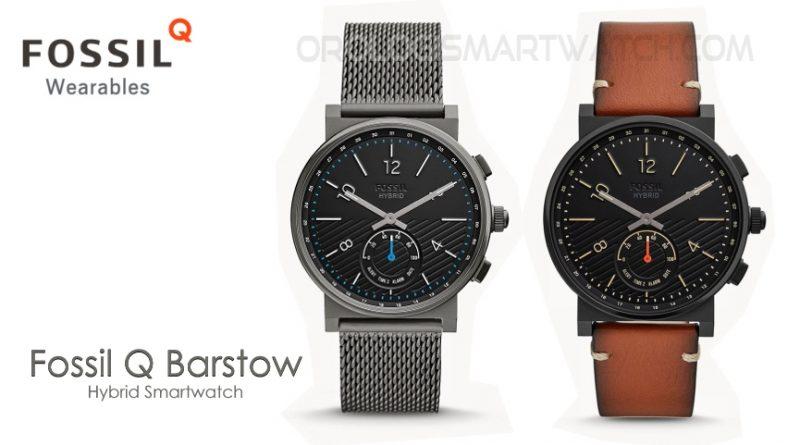 Scheda Tecnica Fossil Q Barstow Hybrid Smartwatch