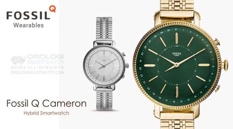 Scheda Tecnica Fossil Q Cameron Hybrid Smartwatch