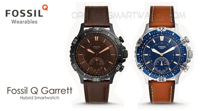 Scheda Tecnica Fossil Q Garrett Hybrid Smartwatch