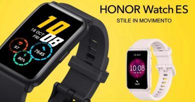 Scheda Tecnica Honor Watch ES