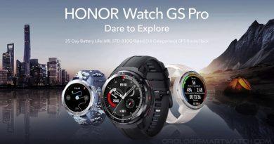 Scheda Tecnica Honor Watch GS Pro