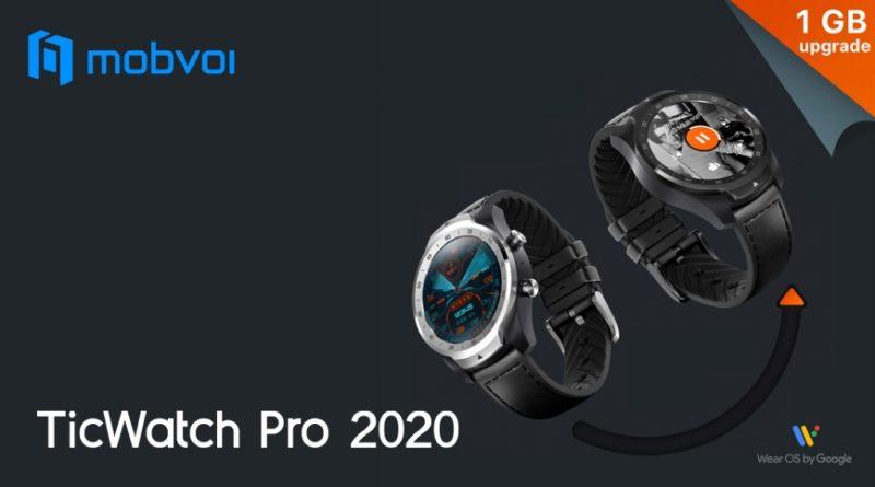 Scheda Tecnica Mobvoi Ticwatch Pro 2020