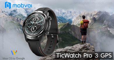 Scheda Tecnica Mobvoi Ticwatch Pro 3 GPS
