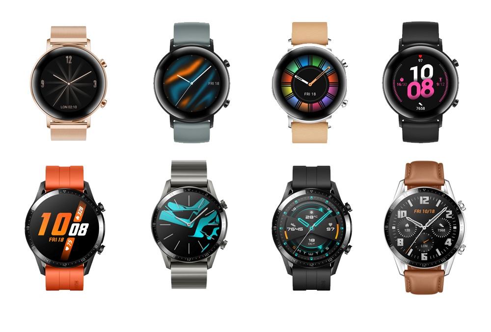 Come si fa a cambiare i quadranti di Huawei Watch GT 2?