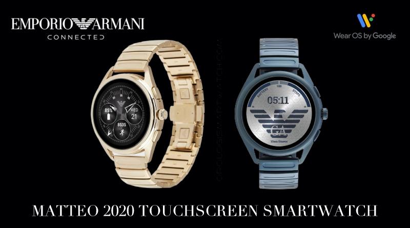 Scheda Tecnica Emporio Armani Connected Smartwatch Matteo 2020