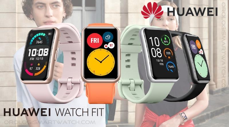 Scheda Tecnica Huawei Watch Fit