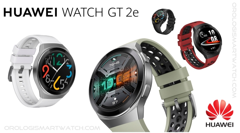 Scheda Tecnica Huawei Watch GT 2e