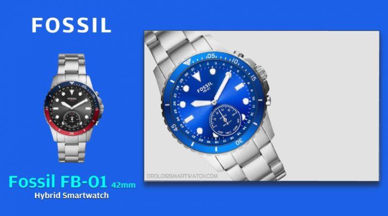 Scheda Tecnica Fossil FB-01 42mm Hybrid Smartwatch