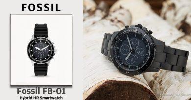 Scheda Tecnica Fossil FB-01 Smartwatch ibrido HR