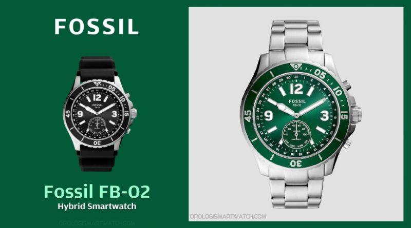 Scheda Tecnica Fossil FB-02 Hybrid Smartwatch