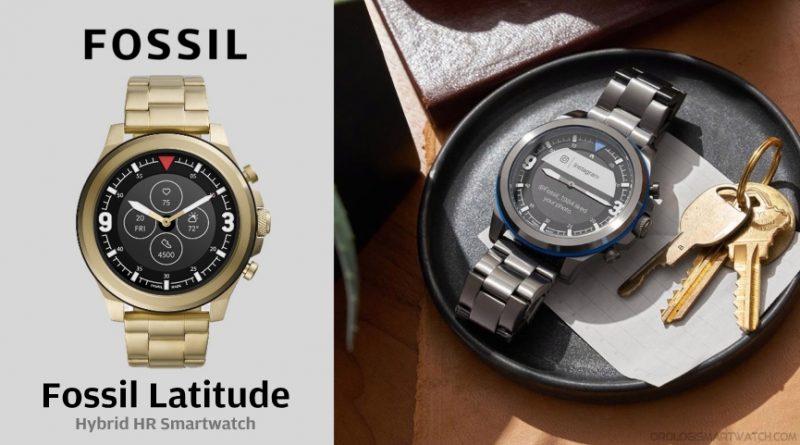 Scheda Tecnica Fossil Latitude Smartwatch ibrido HR