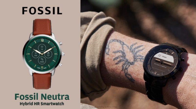 Scheda Tecnica Fossil Neutra Smartwatch ibrido HR