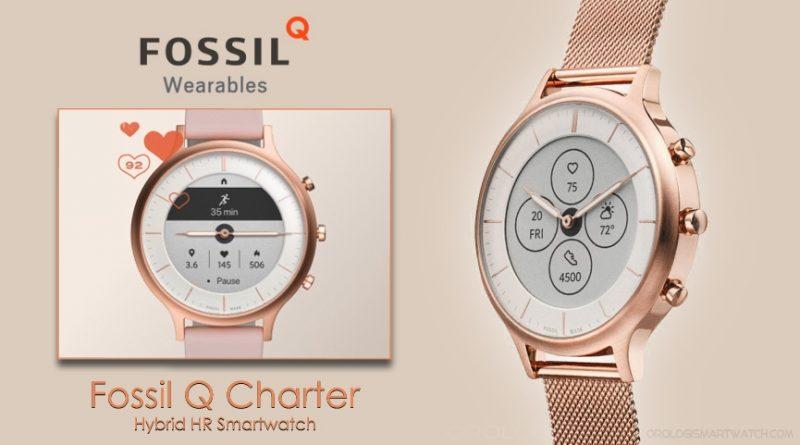 Scheda Tecnica Fossil Q Charter Smartwatch ibrido HR
