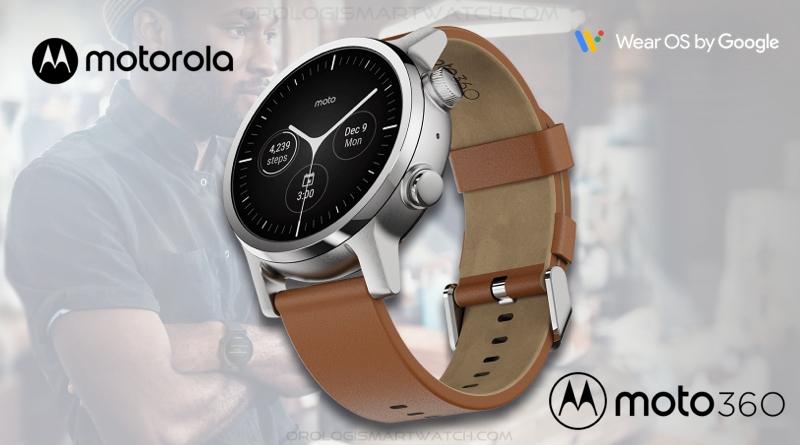 Scheda Tecnica Motorola Moto 360 Gen 3