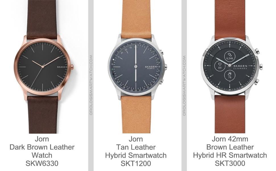 Scheda Tecnica Skagen Jorn Smartwatch ibrido HR