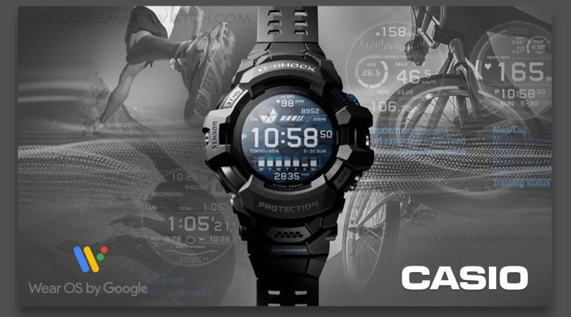 Casio annuncia il primo Smartwatch della serie G-SHOCK con Wear OS
