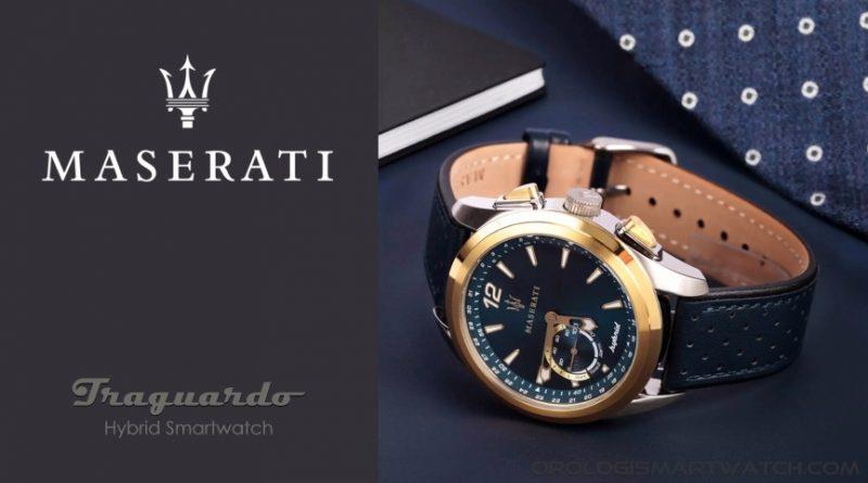 Scheda Tecnica Maserati Traguardo Smart 2021 Smartwatch Ibrido