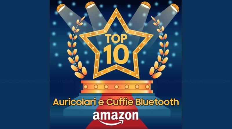 I 10 articoli più venduti su Amazon nella categoria cuffie e auricolari bluetooth